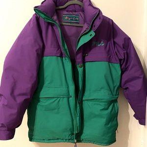 90's vintage Filas Magic Line Gore-Tex ski jacket